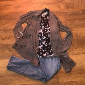 Fall four piece outfit